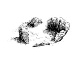 Sin título (2017) - Tinta china sobre papel - 25 x 35 cm